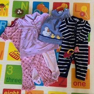Bundle/lot: Dresses, PJs, ... + FREE gift